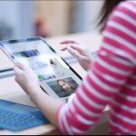 Comprar regalos y navegar en línea