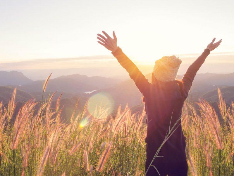 La salud y el bienestar consisten en abrazar tu vida