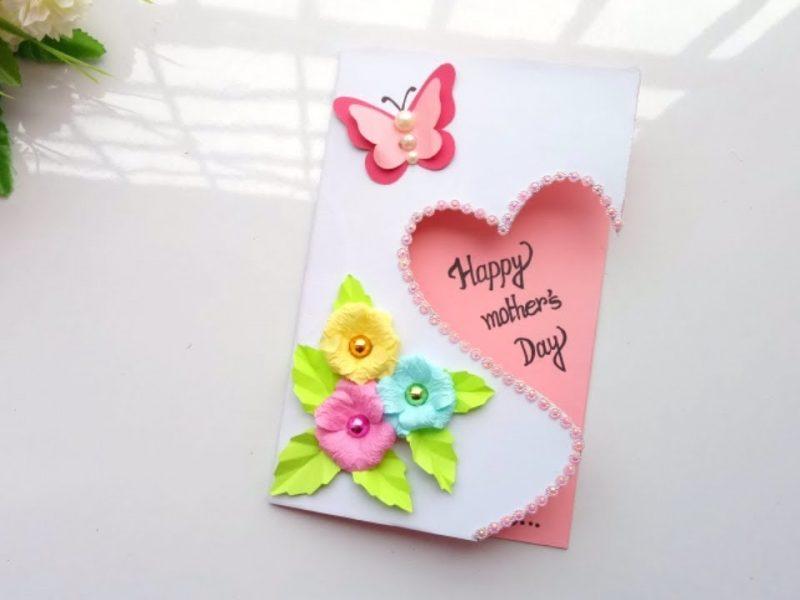 Diseña personalizadas tarjetas para el día de la madre para tu madre